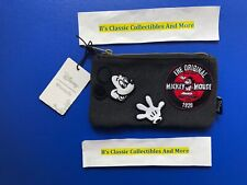 Loungefly Micky Mouse Zip Pouch, Cosmetic/Coin Bag, Pencil Pouch, Disney New
