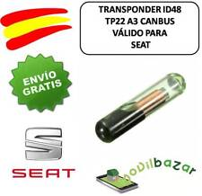 TRANSPONDER ID48 CANBUS TP22 A3 SEAT CHIP KEY MEGAMOS
