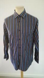 Man Shirt Occasion SERGE BLANCO Multicolored Size M