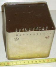 Drossel , Choke , Vorschalttrafo 220 V --> 110 V , 10 Anschlüsse 0,3 - 3,3 Ohm