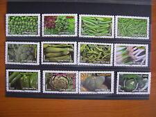 Série complète légumes 2012 (YT 739/750), 12 timbres