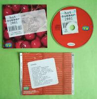 CD Compilation HOT SUMMER 2001 Uno Sorrisi Canzoni Santana Quincy Jones no lp mc