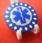 EMS Star of Life Caduceus Medical Design Poker Chip Golf Ball Marker Card Guard
