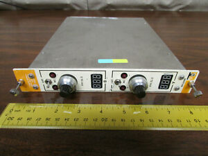 Bertan 362 Dual High Voltage Power Supply DPM Readouts NIM BIN Plugin SN5151