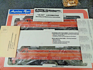 American Flyer / Lionel S Gauge Southern Pacific Daylight Alco A-A Unused In O.B