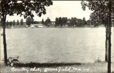 Brookfield MO Country Club Real Photo Postcard