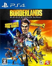 Borderlands Double Deluxe Collect SONY PS4 PLAYSTATION JAPANESE NEW JAPANZON