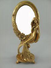 Miroir De Maquillage Or Golden stehspiegel SUR PIED POUR COIFFEUSE TABLE