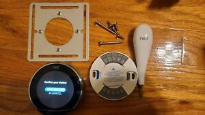 Nest Learning Programmable Thermostat 3rd Gen - Stainless Steel (T3007ES)