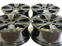 """20"""" INCH FORD F150 EXPEDITION SET OF 4 04-2019 BLACK FACTORY OEM WHEELS RIMS"""