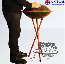 "Oak Wooden Quality  Handcrafted  Handpan Stand – ""Q"