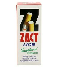 Zact Lion Smokers Toothpaste Refresh your breath White Teeth (160 g. x 1)