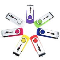 BESTRUNNER 1GB-32GB 128MB-512MB USB 2.0 Flash Drive Memory Stick Storage Lot New
