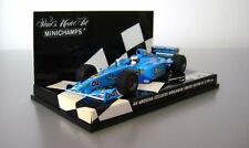 Minichamps 1:43 Jenson Button Benetton Renault 1st Test Drive Jerez 5th Dec 2000