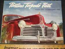 1941 Pontiac Sixes & Eights Prestige Sales Brochure