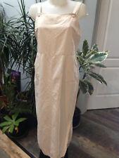 JACQUELINE RIU robe longue bretelle asymetrique droite Taille 42