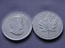 Stempelglanz Münzen aus Kanada
