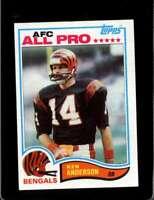 1982 TOPPS #38 KEN ANDERSON NM BENGALS  *X4322