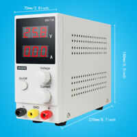 30V 10A K3010D Mini Variable Regulated Adjustable DC Power Supply Laboratory Use