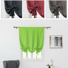 Window Valance Balloon Blind Blackout Curtain Bathroom Curtain