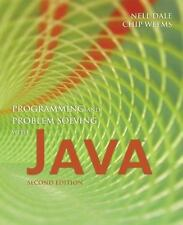 Programming And Problem Solving With Java by Dale, Nell; Weems, Chip  BRAND NEW