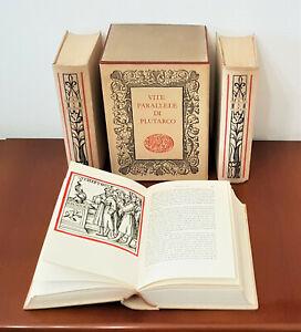 VITE PARALLELE DI PLUTARCO  3 Voll - 1960 Einaudi con cofanetto