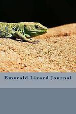Emerald Lizard Journal by James Toohill (2017, Paperback)