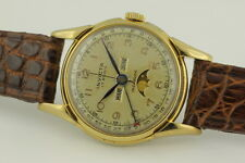INVICTA TRIPLE DATE + MOONPHASE GENTS WW VALJOUX 90 / 89 c1940s (MOD REF: 22790)