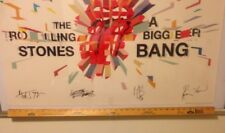 """Rolling Stones 2005 """"A Bigger Bang"""" NEW Fan Club Poster  Size 24"""" x 36"""""""