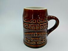 Clearmans Northwoods Inn Brown Mug Hall Pottery Made in the USA Hall #588