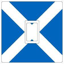 Escocia bandera escocesa Interruptor De Luz pegatina de vinilo Cover Skin [ single ]