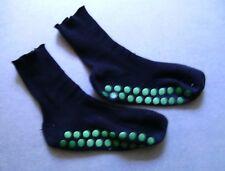 DAMEN Socken mit NOPPE (Rutschfest) - In SCHWARZ - (9117) - GR.: 36-40 !! 2.Wahl