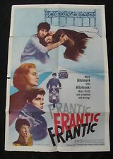 FRANTIC movie poster JEANNE MOREAU Original One sheet