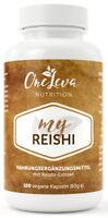 My Reishi 100 Kapseln 500 mg Reishi Pilz Extrakt 30 % Polysaccharide Vitalpilz