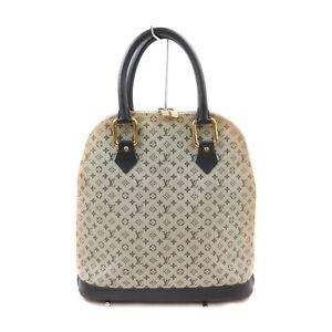 Louis Vuitton LV Hand Bag Alma-o  M92202 Black Monogram Mini lin 1724356