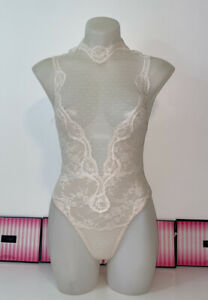 NEW ❤️VICTORIA SECRET Lace Teddy XSmall Bodysuit