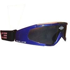 Salice Tekno Ski Goggles / Sunglasses with Smoke Anti-fog Lens (Blue)