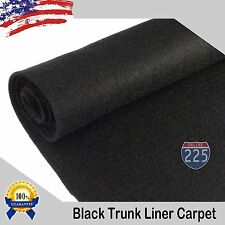 """Black/Charcoal/Tan Un-Backed Automotive Trunk Liner Carpet 54"""" Wide -By the Yard"""