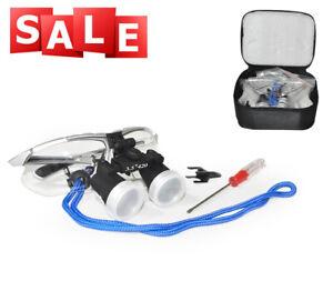 Profi 3.5X Dental Binokularlupen Kopflupe Binocular Loupes Optical  Lupenbrille