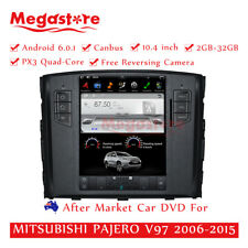 "10.4"" Android Car Multimedia Player GPS Tesla Style MITSUBISHI PAJERO V97"