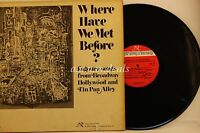 "Where Have We Met Before? - New World Records   LP 12"" (VG)"