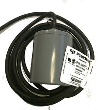 SJE-RHOMBUS PUMPMASTER P/N 1002713  Aerobic Septic Pump Float Switch