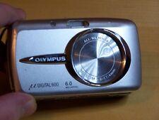 Olympus µ 600 6.0MP Digital Camera - Arctic silver