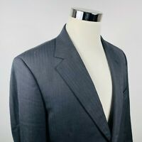 Brooks Brothers 40S Madison Suit Jacket Herringbone Saxxon Wool Two Button