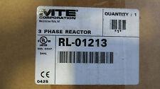 MTE RL-01213, 3 Phase 12 Amp 480 Volt 7.5 HP Reactor NEW