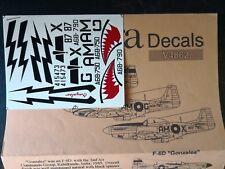 """Ventura australiano P-51D Mustang 1/48 (x3) y USAAF F-6D """"Gonzales"""""""