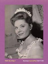 PHOTO DE PRESSE THÉÂTRE : PHILIPPINE PASCAL, DE ROTHSCHILD, MARIAGE, 1961 -P206