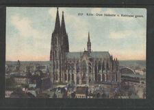 191x KOLN DOM SUDSEITE V RATHAUS GESEH GERMANY POSTCARD