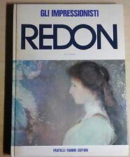 jean cassou ODILON REDON gli impressionisti Fratelli Fabbri Editori 1971