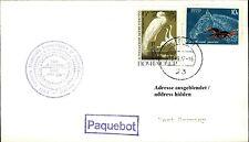 Nave post nave MS Tul AJU Dag paquebot spese di spedizione FRANCOBOLLI Unione Sovietica